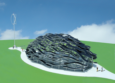 The Eco-Wine Pavilion