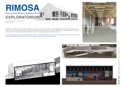 RIMOSA Rhode Island Museum of Science & Art (Revit)