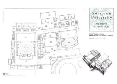 H2L2,(Feasibility Study) Kutztown University, Art Center, Kutztown,PA