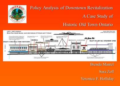 Downtown Revitalization - City of Ontario