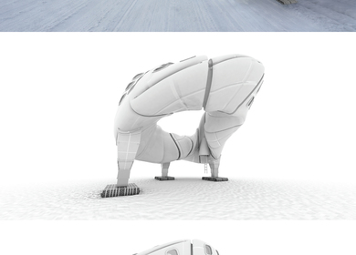 Boeing 787 Inspired Shelter