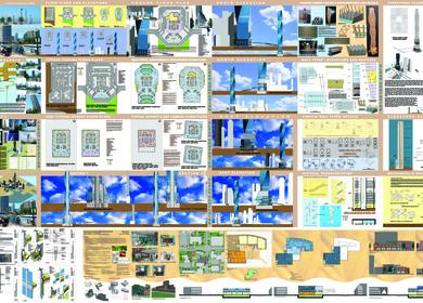 Masters in Architecture Portfolios
