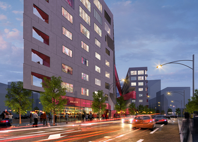 Arts District Mixed-use Housing Development