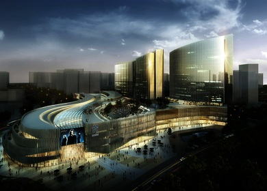 Aedas designs bay front development in Xiamen, China