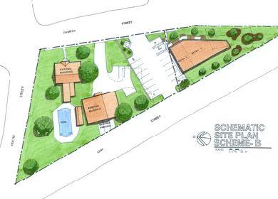 Conceptual site planning