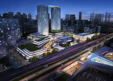 Ningbo Yinzhou Southern CBD Portal