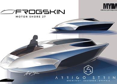 FROGSKIN 27 off shore - Concept design for MYDA 2013