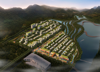 Minghu Waterfront Development
