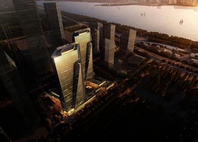 Aedas designs new office-cum-retail project in Hangzhou