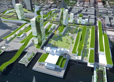 Delaware Riverfront Renewal - Option One