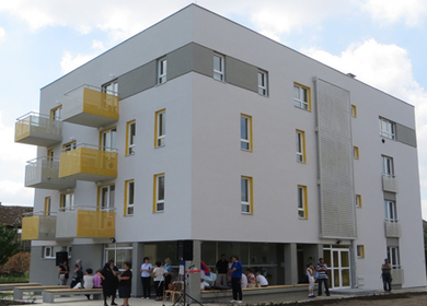 Social housing in supportive environment in Kovin