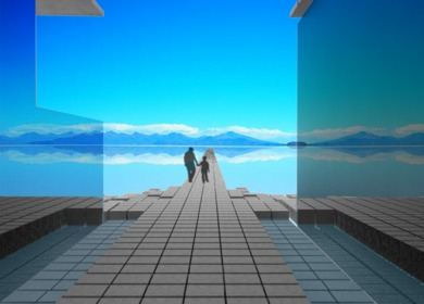 Amplified Perception | A Rest Stop for I-80 in the Great Salt Flats, Utah {Fourth Year}