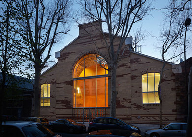 Technological Halls for the Ecole Nationale Supérieure d'Arts et Métiers