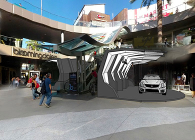 Cadillac Showroom Concept at SM Place