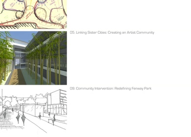 College Architectural Portfolio