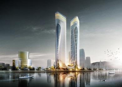 Aedas designs a dragon-inspired cultural-tourism complex in Zhuhai, China