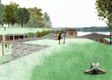 Olmstead Nature Hub summer 2009