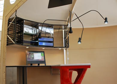 Lunar Medical Workstation | Lighting Prototype Fabrication {Third Year}