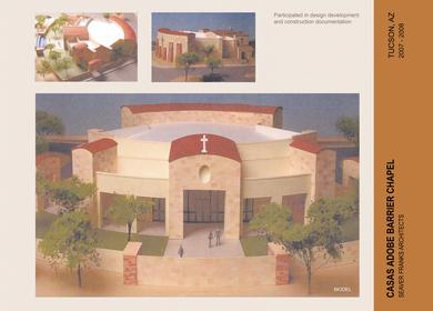 Casas Adobe Barrier Chapel