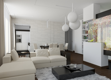 Apartment on Leninskiy Ave. in Moscow