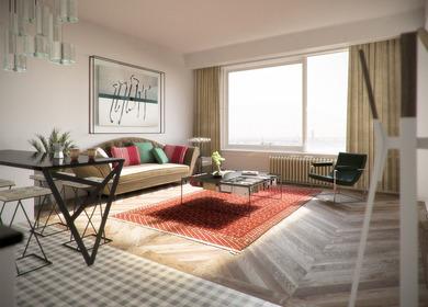 den haag apartment - interior