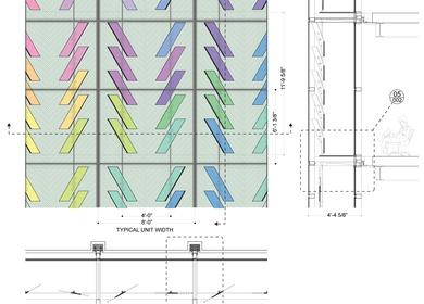 Dichroic Curtain Wall