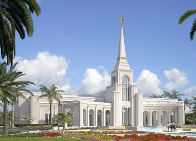 LDS Temple - Fort Lauderdale, Florida