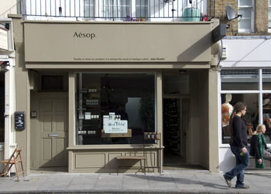 AESOP BOUTIQUES - PARIS & LONDON