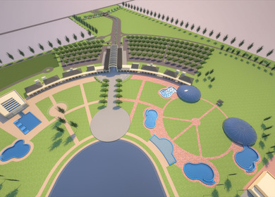 Parque Termal Dolores, 110 acres!!!, 2012