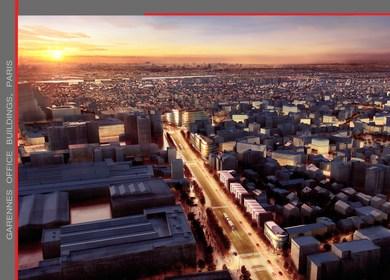 Garennes office buildings - Building Belgique (Paris)
