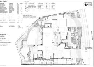 Landscape Plan/Construction Set