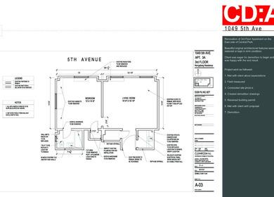 Construction Document - Sample Portfolio