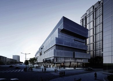 Aedas designs a dynamic office building in Shenyang, China