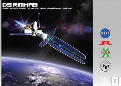 DS RIM Hab : Deep Space Robotic Inflatable Membrane Habitat