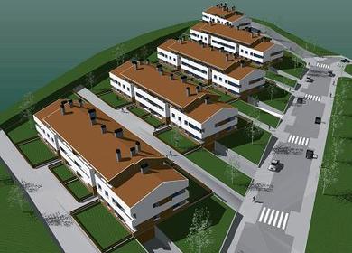 Social housing complex (70 apartments), facilities and Urbanization.