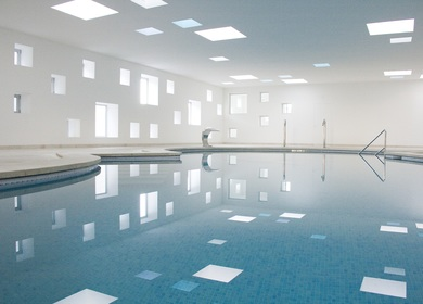 INDOOR POOL FOR AN HOTEL