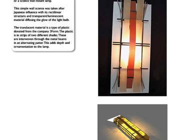 Metal Sconce Lamp