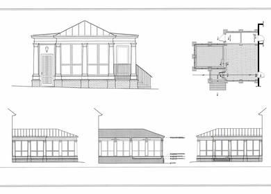 2009-Design - Hadley Porch CAD
