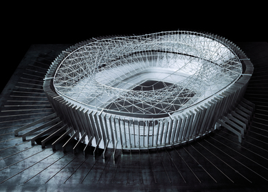 Soccer Stadium for the Barcelona Football Club