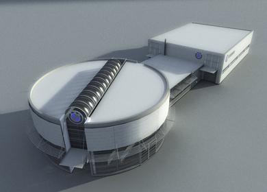 BMW dealership facility