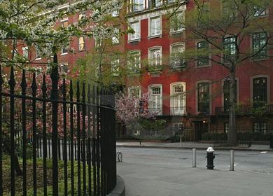 Gramercy Park Historic Cast Iron Fence
