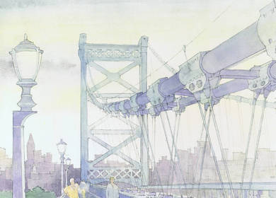 H2L2 (Feasibility Study) Ben Franklin Bridge