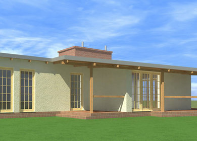 reconstruction - small house