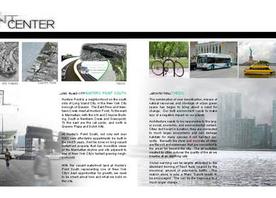 Masters Thesis Project - Long Island City Transit Center