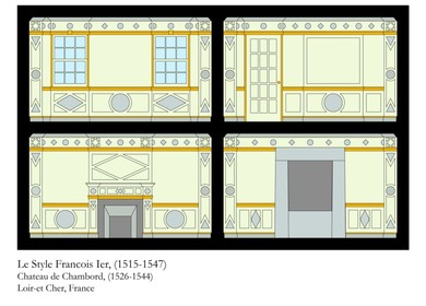 History of French Paneling