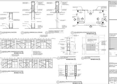 METAIRIE OFFICE TOWER, MAIN LOBBY INTERIOR & BUILDING EXTERIOR RENOVATION