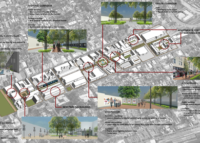 Sustainable Urban Corridor: Block Pattern and Underutilized Space in Upper King Street District, Charleston, SC