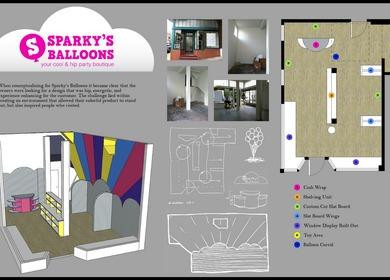 Sparky's Balloons