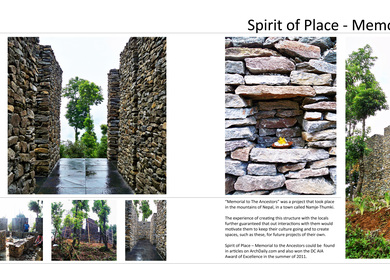 """Spirit of Place - """"Memorial to The Ancestors"""""""
