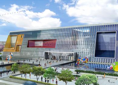 Wuxi Taihu New City-Poly Cultural Center Master Plan